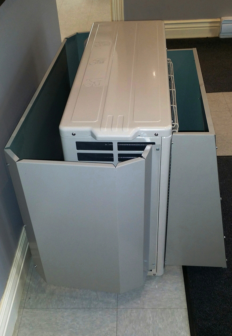 Wind Baffles Annapolis Valley Heat Pump Accessories